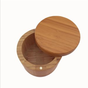 Wooden Seasoning Pot Bamboo Spice Shaker Sugar Salt Pepper Herbs Storage Bottle Spice Jar For Kitchen 267 N2