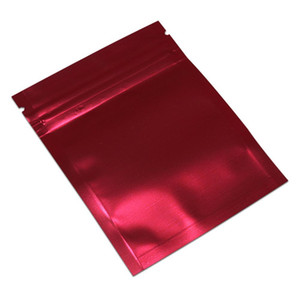 200pcs H Self Clear Red Lock Plastic Aluminum Bag Zip Seal Snack Foil Retails Packing Pouch Mylar Ziplock Package BbyjyG Lot Candy Mnkjv