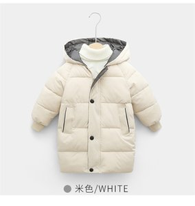 ter Puffa Jacket Puffer Long Coat Children Kids Quilted Warm Outwear Outdoor Windproof Boys Girls Long Jackets Cloth Top LY111701 22LWS