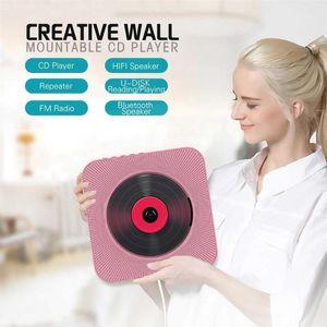 Player portátil Player Montaje en la pared Bluetooth Control remoto Radio FM Altavoz HIFI con USB 3.5mm 4 Color EE. UU. / EU / UK Enchufe (comentario) 1