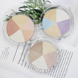 VMAE High quality OEM 3 Colors Private Label Pigment Face Makeup Pressed Highlighter Pigment Pressed Glow Powder Highlighter Makeup