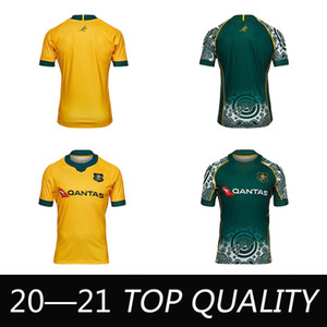 2020 2021 Australie Wallabies Jersey 20 21 Rugby Jerseys National High-Quality Rugby Leader Chemise Australienne Wallabies Shirts S-5XL