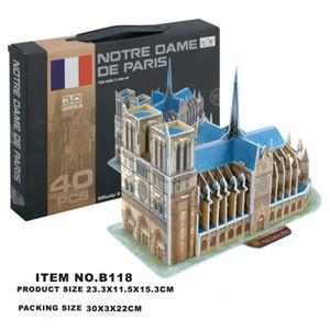 3D drawing Model DIY Toys Science Education Toy Stationery Enlightenment products souvenir gift for kids Cathédrale Notre Dame de Paris