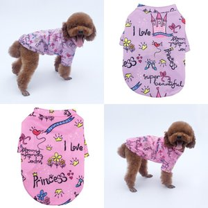 Crown Pattern Purple Pets Clothes Dogs Autumn Winter Plush Warm Princess Sweater Small Dog Pets Clothing 6 3ly J2