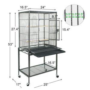 Kuş kafesi Büyük oyun Üst Kuş Parrot Finch Cage Macaw Cockat Qylemc New_Dhbest