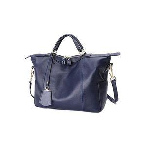 Genuine Leather Handbags 2021 New Messenger Large Cowhide First Layer Ladies Handbag Baita Hand Leisure Bag Capacity Bags Bruqm