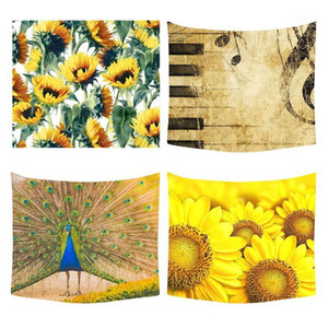 Bohemian Mandala Wall Hanging Tapestry Wall Bedspread Chrysanthemum Blanket Table Tapestry 130cm*150cm MAR161