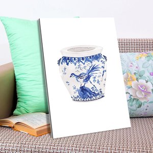 Watercolor Vase Art Poster Canvas Paintings Poster Print Wall Art for Living Room Home Decor