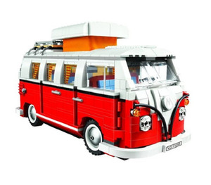 In magazzino Temping Technic Volkswagen T1 Camper Van Model Building Blocks Bricks Toys Creator Compatibile con Lepining City X0102