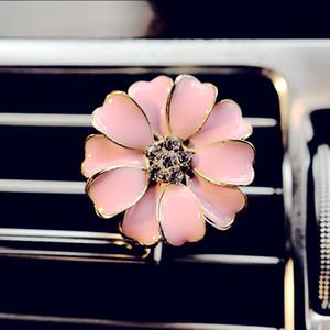 Auto Parfüm Clip Outlet Medaillon Clips Blume Auto Lufterfrischer Konditionierung Vent Clip Home Essential Öl Diffusor für Auto LXL113 33 N2