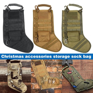 Newest Strategical Christmas Stocking Accessories Storage Bag Outdoor Sports Pendant