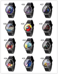 Sıcak ABD İzle Karikatür Oyunu Baskı İzle Unisex Saatler Tasarımcı Bilek İzle Analog Saatı Bilezik Butik F112104