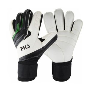 Self Produced and Sold New Football Match Gloves Goalkeeper Detachable Knuckle Thickened Latex Semicolon QQKT