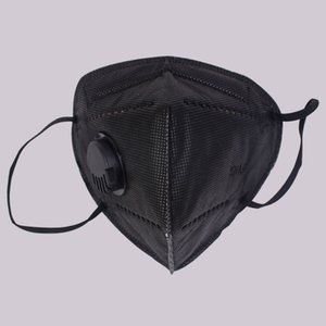 K95% Mask Dust Anti Mouth 5 Layer Ffp2 Free Mask Activated Carbon Breathing Respirator 95% Shipping Face Masks Filter Black Pcpqw