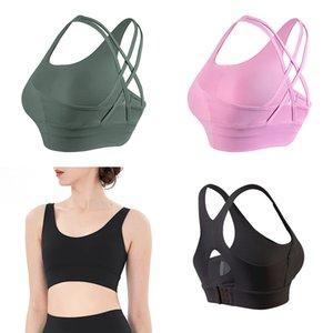 Quatre nouveau soutien-gorge de yoga Sexy Back Sports Sous-vêtements Vêtements de yoga NOUVEAU NOUVEAU Dossier Fitness Bra Petit Soutien-gorge Swing Bra Lady Tops