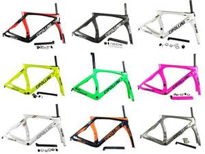 30 colori Cipollini RB1K Carbon Road Bike Frame Rosso Sliver Marrone Rosa Arancione Green Verde Colors
