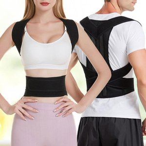 Shoulder Support Posture Corrector Wellness Body Brace Classic Back Support Belt Lumbar Adjustable Corrector Protection Back