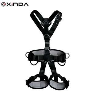XINDA Top Quality Outdoor Harnesses Rock Climbing High Altitude Protection Full Body Safety Belt Anti Fall Protective Equipment Q1118