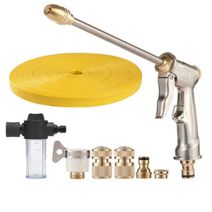 Car Clean Foam Gun Lance Pot Wash High Pressure Spray Gun Flexible Water Hose Nozzle Watering Nozzles For Pressure Washers