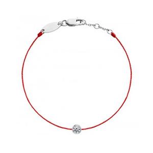 B01-001F Ligne de thread rouge Fabriqué à la main Chaîne à chaîne à la main Bracelets Bracelets Bracelets pour Femmes Anniversaire Cadeau Bijoux Y1119