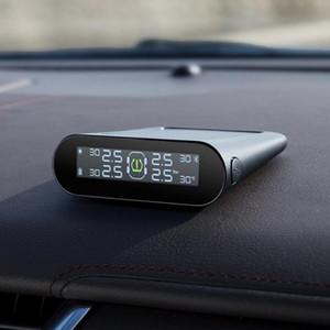 70Май Датчик давления в шинах Система мониторинга давления в шинах Солнечная мощность ЖК-дисплей Xiaomi 70 Mai TPMS Автомобильная сигнализация