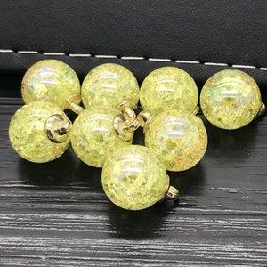 15mm 8pcs Belle perle Pendentif Cracks Perles Chaîne Collier Femmes bijoux 15mm 8pcs à bas prix Coupons Online WMTBKL DH_NICESHOP