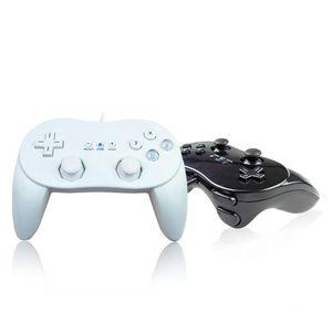 New White Classic Pro Wired Gamepad Joypad Controller For Joypad Wired Wii Gamepad Pro Classic White