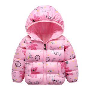 Children 2020 Winter Jacket Kids Hooded Down Coat Boys and Girls Cartoon Print Jackets Kids New Thick Coat Child Fashion Warm Coats Hot Sale