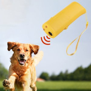 New 3 in 1-Anti-barking Stop Bark Deterrents Ultrasone Repeller Control Trainer Dog Pet Training Device