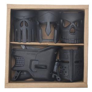 Outdoor A Box Multiple Styles Taktische Kristallbombe Spielzeug Zubehör AR-15 Magazin Maske Griffverstärktes Polymer Construc 1 NQ56H