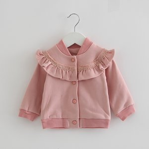 2021 New Newborn Baby Girls Jackets Winter Infant Toddler Plus Veet Warm Kids Outerwear Children Coat 0-24m 2 Color 3kk8
