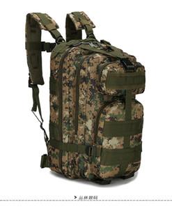 Sport all'aperto Borsa da camuffamento Guida Escursionismo Zaino 3P Pack Tactical Backpack Camping Virt Oxford Bag Camouflage Bag