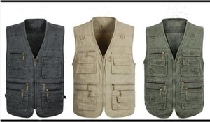 Summer Mesh Vest For Men Spring Autumn Male Casual Thin Breathable Multi Pocket Waistcoat Mens Baggy 7XL Vest With Many Pockets