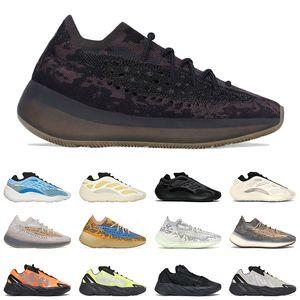 kanye west 380 onyx pepper men women running shoes 700 safflower azareth azael vanta inertia mens trainer sports sneakers