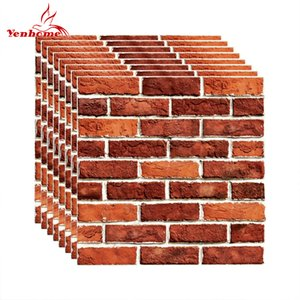 PVC Self Adhesive Wallpaper 3D Brick Tiles for Kitchen Backsplash Peel and Stick Wall Stickers Bathroom Home Decor Wall Decals Z1118