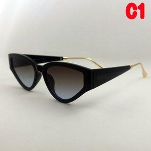 Herren Hohe Qualität Sonnenbrille Frau Luxus Designer Mode Dreieck Katze Eye Goggle Kleiner Rahmen Europa Amerika Schatz Sonnenbrille