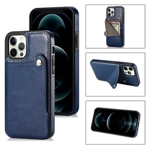 Wallet Card Phone case for iPhone12 11Pro Max 7 8 plus XS Max Phone Cover for Samsung S20 S20 PLUS