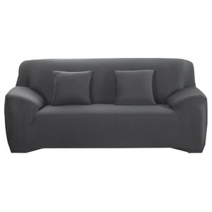 Elasticity Sofa Cover for Living Room Non-slip Couch Slipcover Universal Spandex Solid Color Stretch Sofa Covers 1 2 3 4 Seater 201221