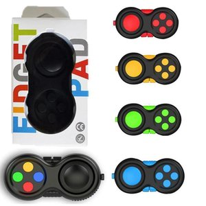 Fidget Pad Second Generation Generation Fidget Cubo Mano Shank Game Controllers Finger Toys Decompressione Ansia Toys
