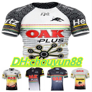 2021 Penrith Panther Indigene Rugby-Trikots 2019 2020 Home Jersey National Rugby League Rugby Australien Nrl Shirts Größe S-3XL