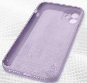 Luxury Original Square Liquid Sile Phone Case For Iphone 12 11 Pro Max Mini Xs X Xr 7 8 Plus Se 2 Slim S jllsTe dh_niceshop