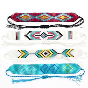 Handmade Bohemia Seed Beads Friendship Bracelet Beaded Custom Mix-Colour Boho Bracelets For Women Men Dropshipping 20201