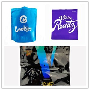 Popular Cookies 1 Pound Bag 16OZ White Runtz SMELL PROOF Packaging Bag Cookies Pound Package 420 Dry Herb Flowers