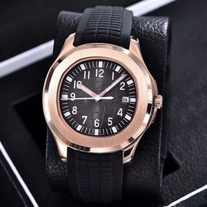 watch 40mm Automatic 2813 movement steel case comfortable rubber strap stainless steel clasp lead the trend watches
