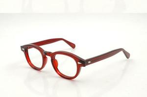 Mode Lemtosh Gläser Rahmen Klar Lese Johnny Depp Gläser Myopie Brillen Retro Oculos de Grau Männer und Frauen Myopie Brillenrahmen
