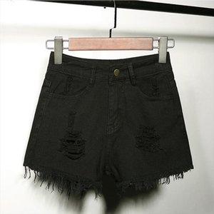 shorts jean denim mini short ripped hole fringe jeans shorts shorty femme sexy women plus size 6xl black white blue woman jupe