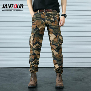 Jantour SWAT Army Combat Tactical Pants Army Male Camo Jogger Cotton Trousers Multi-Pocket Camouflage Men's Cargo Pants