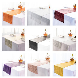 Sequins Table Flag Babysbreath Embroidery Tables Runner Mediterranean Sea Tablecloth Decorations Party Supplies Hot Sale 10 5xn K2