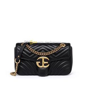 새로운 숙녀 디자이너 패션 고품질 어깨 가방 미니 체인 메신저 가방 / 여러 가지 빛깔의 선택 / 무료 선물 상자, 무료 배송