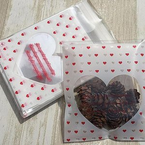 Special Love Cookie Candy Self Adhesive Plastic Packing Bags Biscuit Cupcake Baked Package Pouches Baking Bag